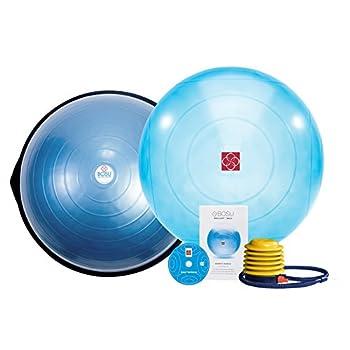 Image of Balance Trainers Bosu Balance Trainer and Ballast Ball Combo Kit