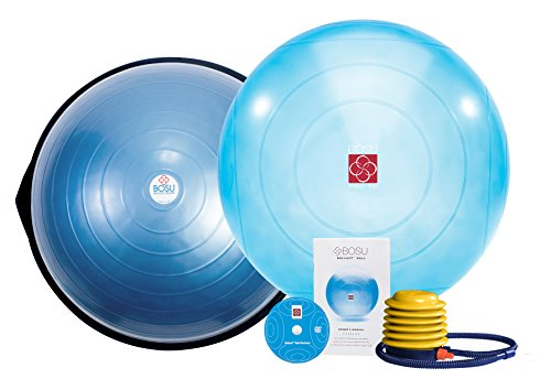 Bosu Balance Trainer and Ballast Ball Combo Kit by Bosu
