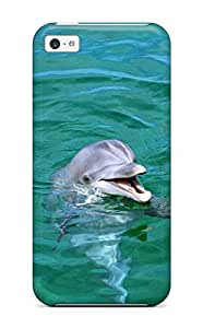 Quality Claudia Phillips Case Cover With Dolphins Nice Appearance Compatible With Iphone 5c
