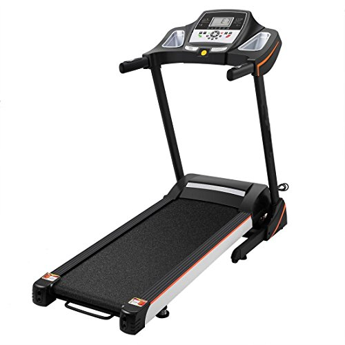 afferty Healthy Fitness Folding Electric Running Fitness Machine Motorized Power Treadmill(US STOCK)