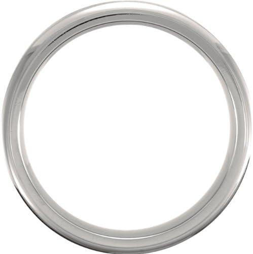 Titanium 7mm Satin Comfort Fit Band Size 10.5