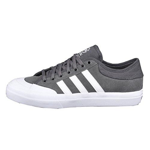 Adidas Menns Matchcourt Adv Skateboarding Sneaker Grå / Hvit B27330