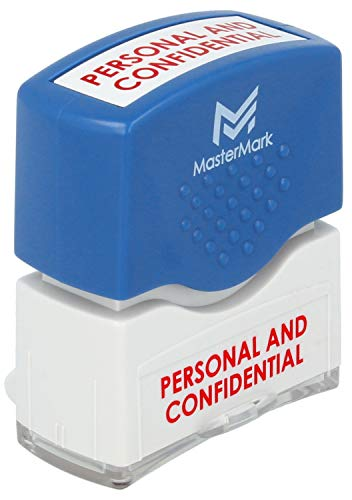 (Personal and Confidential Stamp - MasterMark Premium Pre-Inked Office Stamp)