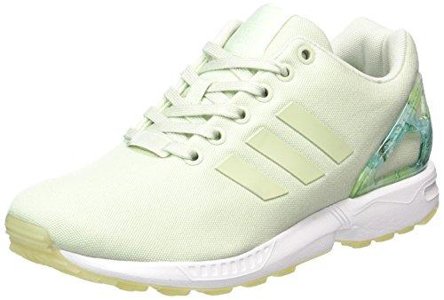 Linen ZX Green Footwear Verde Green Green Ginnastica Basse White Green Linen White Scarpe adidas Linen Footwear Flux Linen Donna da 8SqRRd