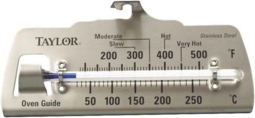 New Taylor 5921n Stainless Steel Oven Guide Thermometer Classic