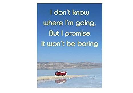 Camper van no Sé dónde voy, pero me promesa no se Boring ...