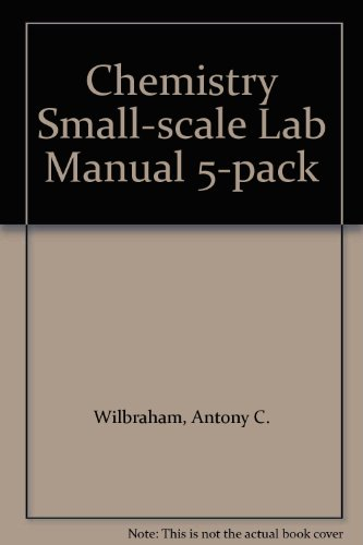 Chemistry Small-scale Lab Manual 5-pack