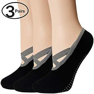 Yoga Socks for Women, Non Skid Grip Socks for Pilates, Ballet, Barre,Dance,Hospital