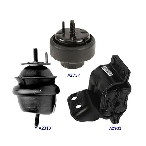 Amazon.com: 1999-2003 Ford Windstar 3.8L Engine Motor & Trans. Mount Set 3PCS A2931 A2813 A2717: Automotive