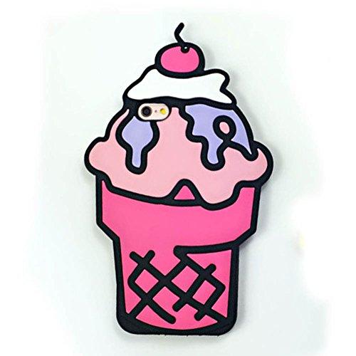 3d ice cream iphone 6 plus case - 8