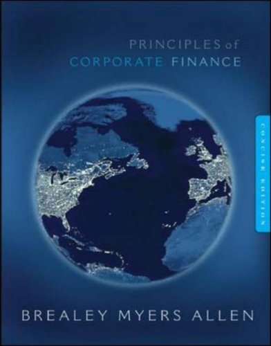 Principles of Corporate Finance Concise w/Bind-in Card--Mandatory Package (McGraw-Hill/Irwin Series in Finance, Insuranc