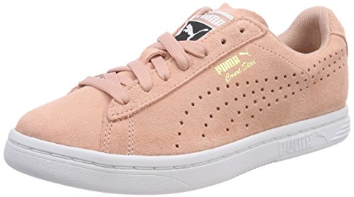 Adulto puma Court White Unisex Beige Puma Star Zapatillas Beige Peach gold Suede gvqFX