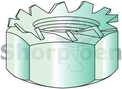 Box of 2000 weight9Lbs Type U Spring Nut Black Phosphate C8117-1024-4