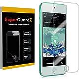 [8-Pack] for iPod Touch 7 / iPod Touch 6 / iPod Touch 5 Screen Protector, SuperGuardZ, Ultra Clear, Anti-Scratch, Anti-Bubble [Lifetime Replacement]