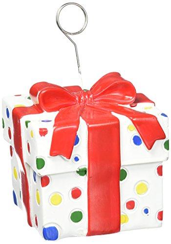 (Polka Dots Gift Box Photo/Balloon Holder Party Accessory (1)