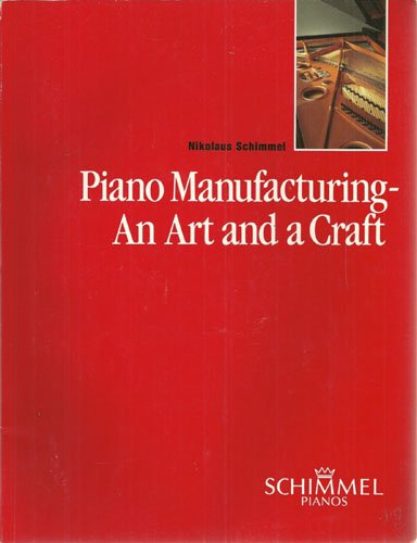PIANO MANUFACTURING - AN ART AND A CRAFT From the Stick Zither to the Piano
