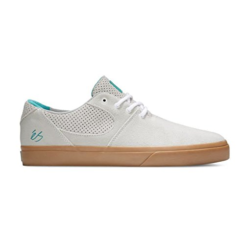 Es Skateboard Chaussures Accel Sq Blanc / Gomme Blanc / Gomme