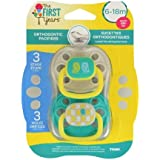Amazon.com: The First Years Gumdrop - Chupete infantil, 6-18 ...