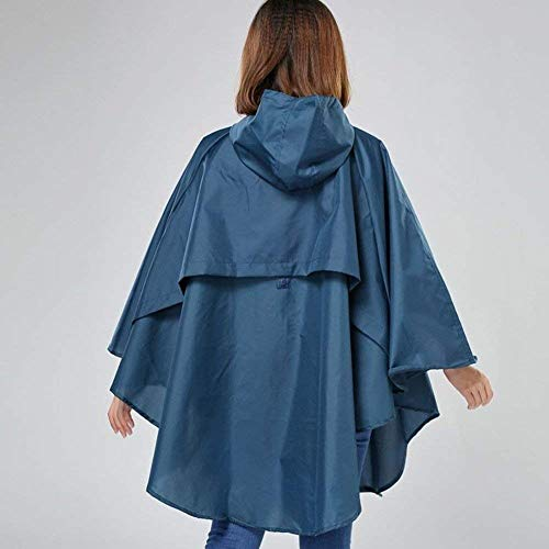 Capa Poncho Mujeres Haidean Transpirable Aire Impermeable Blau Con qqfdwU6r