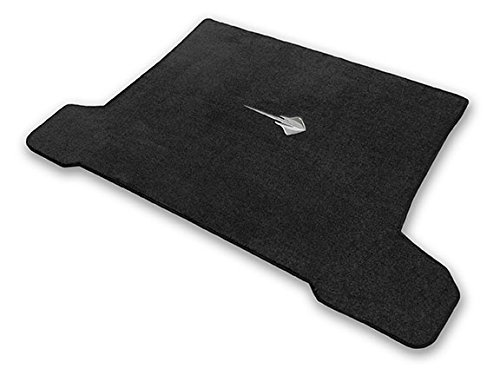 2014-2017 C7 Corvette Coupe Jet Black Trunk Mat - Stingray Logo