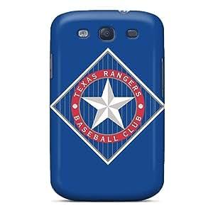 Fashionable PlW4762RZBS Galaxy S3 Case Cover For Baseball Texas Rangers Protective Case