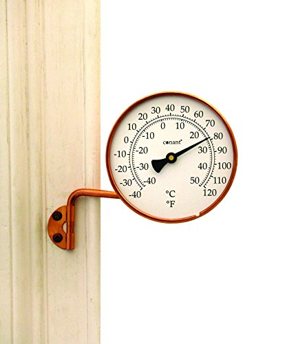 Conant T6LFC Vermont Thermometer with Living Copper (Vermont Dial Instruments)