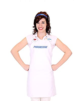 Progressive Collection Flo Insurance Girl Costume, One_Size