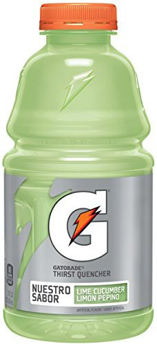 Gatorade Cucumber Lime, 32-ounces Bottle (Pack of 24, Total of 768-ounces) ()