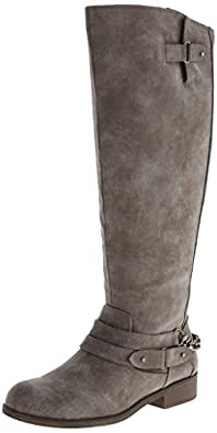 Amazon.com | Madden Girl Women's Caanyon Equestrian Boot