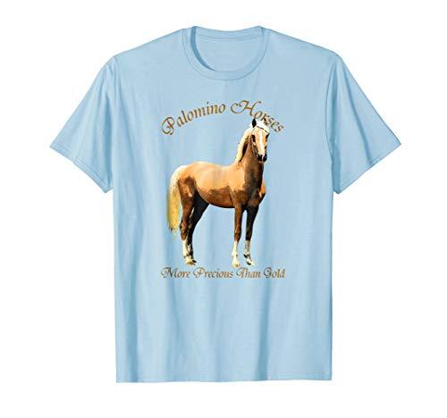 Palomino Horse T-Shirt - 7