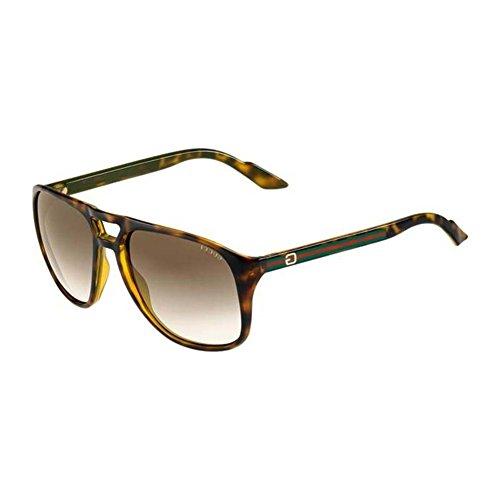 0a1753f1b5 Gucci Sunglasses GG 1018 S HAVANA 791CC GG1018 (B00839IHHI)