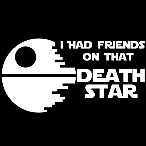 [해외]나는 그 Deathstar에 친구를 가지고 있었다 Funny Bumper Sticker Star Wars Stormtroopers/I Had Friends on that Deathstar Funny Bumper Sti