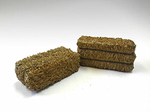 Hay Bale Accessory 2 Pieces Set for 1:18 Scale Models by American Diorama 23979 (Accessory Set 1 Inch Scale)