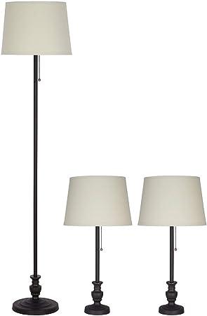 Amazon.com: Catalina Lighting - Lámpara de pie y de mesa ...