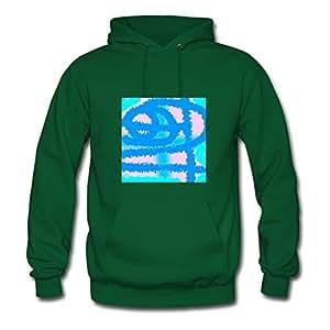 Janistillo Colors Print Sweatshirts X-large For Women Green
