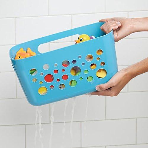 mDesign - Accesorios de baño sin taladro - Soporte para ducha con ...