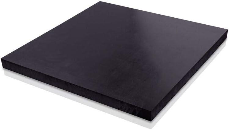 "UHMW Polyethylene Plastic Sheet 3//8/"" x 18/"" x 24/"" Black Color"