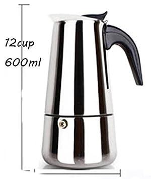 Hornillo, - Cafetera de espresso Moka Pot, 304 Acero ...