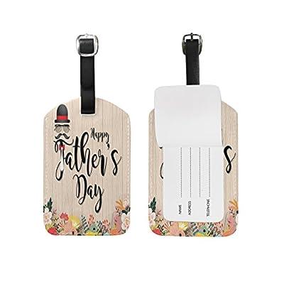 Saobao Travel Luggage Tag Dragon PU Leather Baggage Suitcase Travel ID Bag Tag 1Pcs