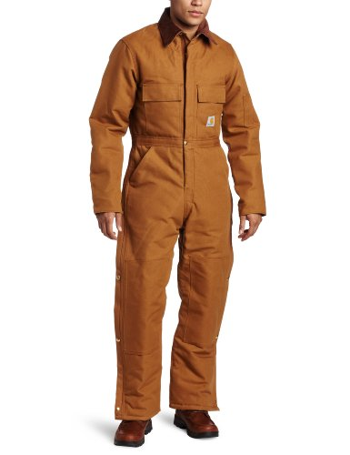 Quilt Lined Duck Coverall - 4