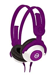 Kidz Gear Wired Headphones For Kids - Purple