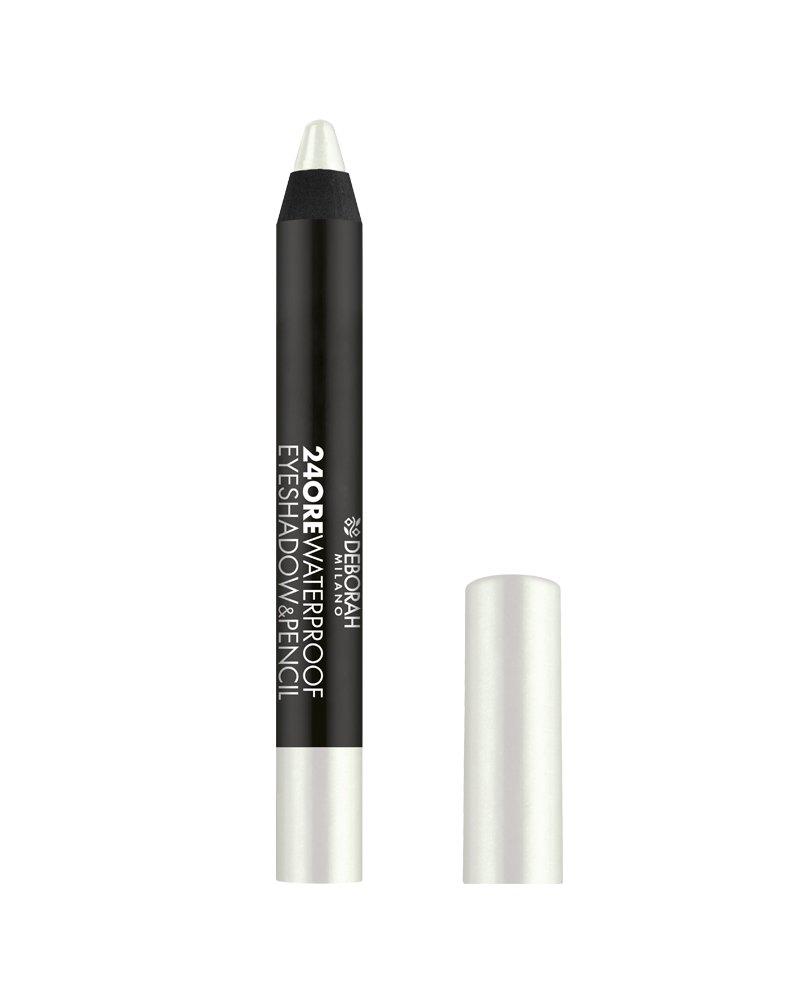 Deborah Milano Eyeshadow & Pencil, 24 Ore, Waterproof, N.4 Deborah (Italia)