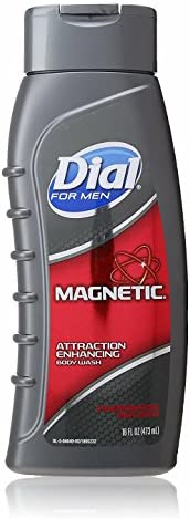 Body Wash 16 fl oz Pack of 3 Dial for Men Magnetic