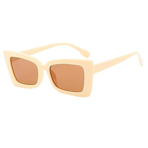 Mymyguoe Gafas de Sol Mujer Grandes Dama Gafas de Sol Mujeres Vintage Gafas de Sol Retro Gafas de protección de la radiación de la Moda Gafas de Sol ...