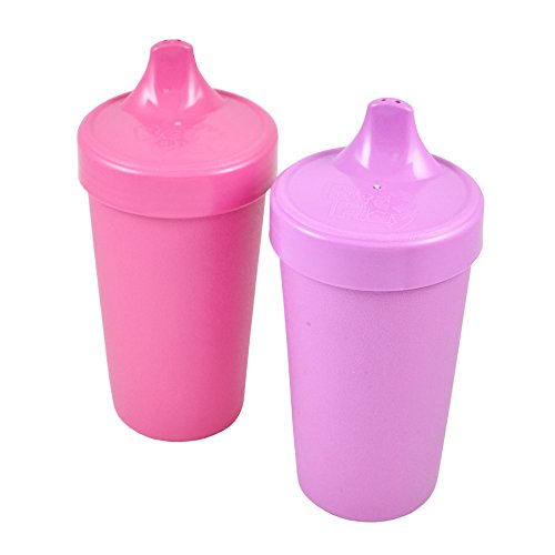 Re-Play Spill Proof Cups, Purple/ Pink, 2-Count
