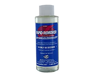 RAPID REMOVER Adhesive Remover for Vinyl Wraps Graphics Decals Stripes 4oz Sprayer