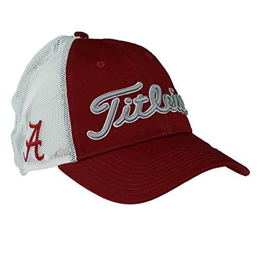 Titleist New 2017 Collegiate Mesh Adjustable Hat- Alabama