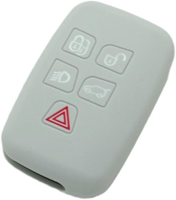 fassport Housse en silicone peau pour femme Coupe pour Land Rover 5/bouton Smart T/él/écommande Cl/é cv9701