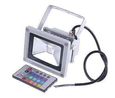 Generic 50W LED RGB Color Change Flood Outdoor Light Lamp Remote Control 90-240V
