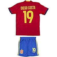 AMDS Soccer Youth Jersey Set ● Spain ● Home Jersey ●...